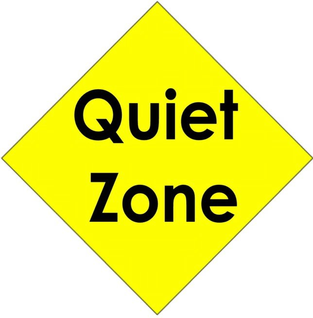 Quiet Zone sign - San Diego Downtown News