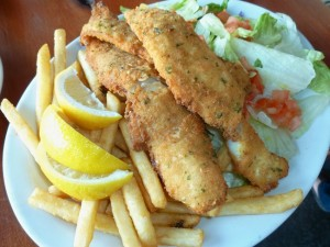 Italian-style fish and chips (Photo by Frank Sabatini Jr.)