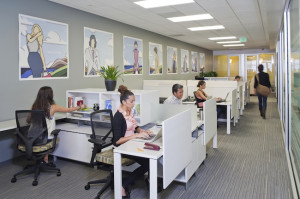 Co-Merge Downtown offers shared workspaces to telecommuters (Photo by John Durant)