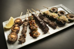 "Meat yakitori from the new ""omakase"" menu at Gaijin Noodle + Sake House. (Courtesy Gaijin Noodle + Sake House)"