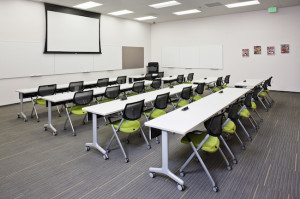 Conference rooms and classrooms are also available. (Photo by John Durant)