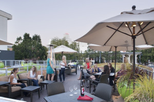 A rooftop space is the perfect place to entertain clients or conduct a mixer. (Photo by John Durant)