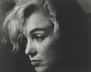 """Monroe"" by Arnold Newman (Courtesy jdc Fine Art)"