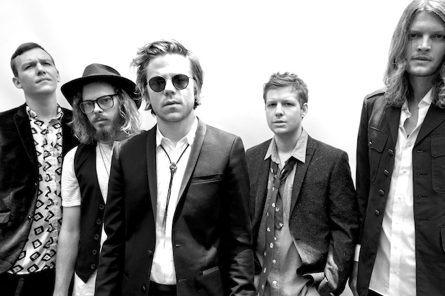 Cage The Elephant Headlines 91Xs Wrex Halls At Valley View Casino Center In Point Loma Courtesy BB Gun Press