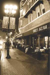 Cafe 21 will soon take over the corner of Fifth Avenue and F Street, a place occupied by Croce's Restaurant for nearly 30 years. (Courtesy Ingrid Croce)