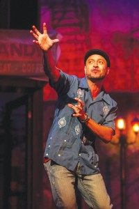"Jai Rodriguez in ""In the Heights (Photo by Daren Scott)"