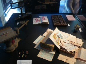Artifacts belonging to Ah Quin (Photo by Will Bowen)