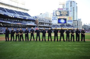 """The Padres will honor """"first responders"""" and military, as well as Jackie Robinson this year. (Courtesy San Diego Padres)"""