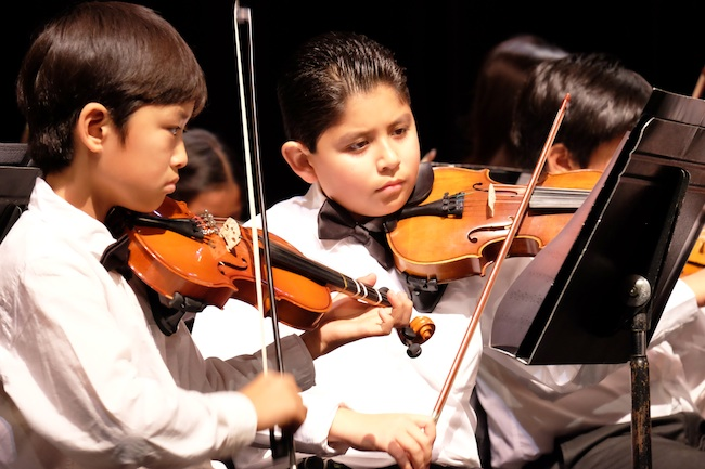 Members of the San Diego Youth Symphony (Courtesy SDYSx)