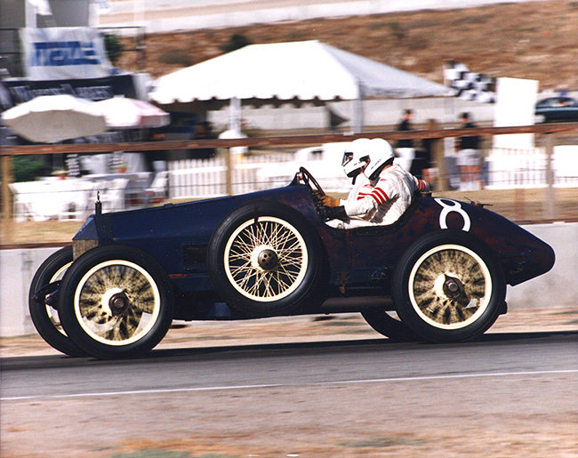 Vintage race cars from the Expo's Point Loma auto race will be on display at the Automotive Museum (Courtesy Automotive Museum)