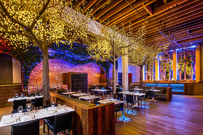 The interior of Parq Restaurant & Nightclub (Photo by Mike Newton)