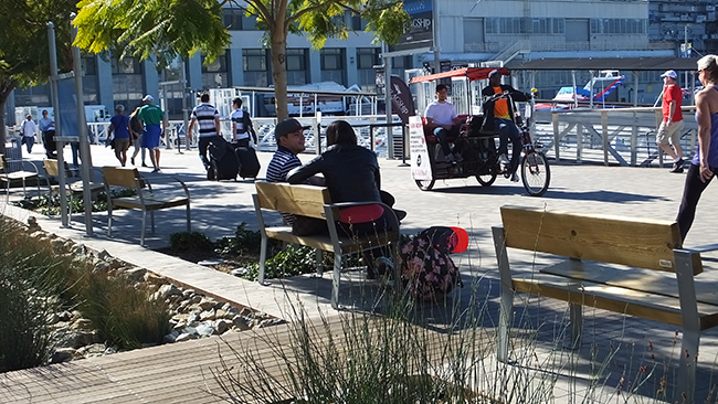 Phase One of the North Embarcadero Planweb