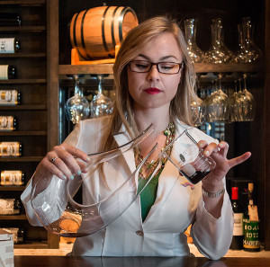 Advanced Sommelier Wendy Shoemaker (Courtesy Fast Forward Event Productions)