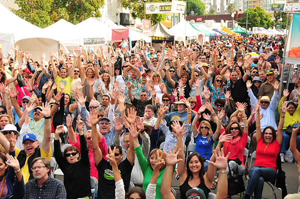 Revelers at the 2014 FESTA! (Courtesy Little Italy Association)