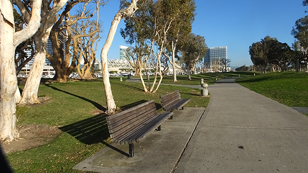 The design of Wimmer, Yamada and Caughy can be seen at Marina Embarcadero Park (Photo by Delle Willett)