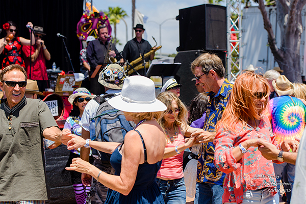 150509 Gator By The Bay, Zydeco Blues & Crawfish Music Dance Festival at the Spanish Landing, North Harbor Drive, near the Airport in San Diego, CA on May 9 2015. Entertainment by Crown Point Music Youth Group, James Harman & The Bamboo Porch Review,