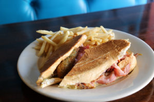 Brian's 24 has introduced new pork dishes, including this Cuban sandwich. (Courtesy Alternative Strategies)