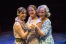 Jennifer Paredes (as Avery), Susan Denaker (Alice) and Paige Lindsey White (Catherine) all wonder what they've missed out on. (Photo by Daren Scott)