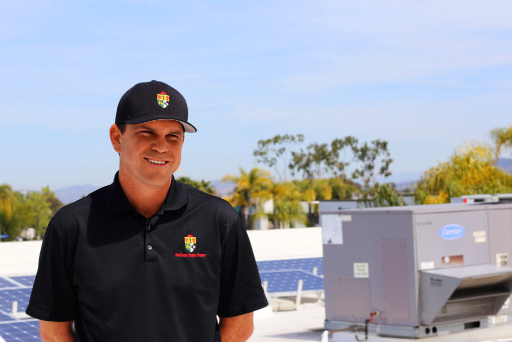 Daniel Sullivan, founder of Sullivan Solar Power, is a Downtown resident. (Courtesy Sullivan Solar Power)