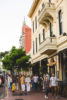Stroll the historic streets of the Gaslamp while enjoying tastes from various restaurants (Photo by Demi Johnson)