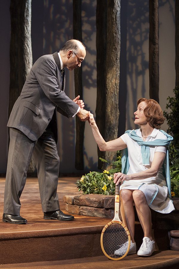 Nabawy (Sadat) and Foote (Rosalynn) in a scene (Photo by Jim Cox)