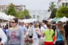 Little Italy Mercado gives attendees view of the Bay. (Courtesy LIA)