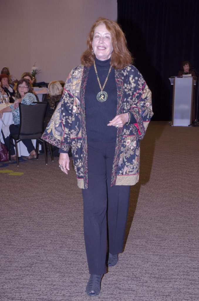 This Chinese Jacket was the second place winner, made by Barbara Pollock (Photo by Diana Cavagnaro)