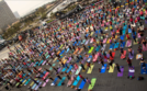 More than 700 yoga enthusiasts participated in last year's event. (Courtesy DSDP)