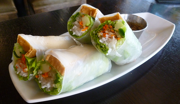 "Lotus Thai's ""heaven rolls"" (Photo by Frank Sabatini Jr.)"