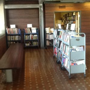 All proceeds from the sale of books support the Central Library's public events.