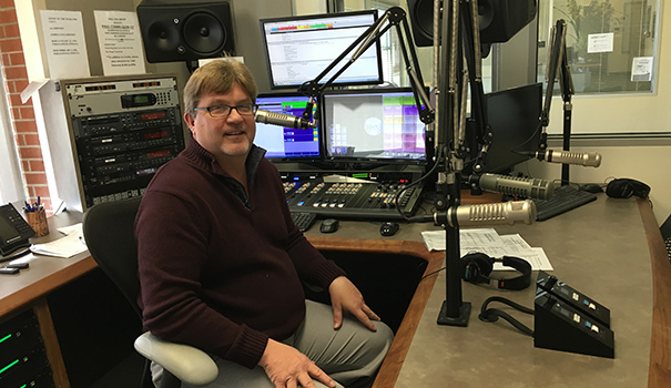 88.3 FM, the award-winning jazz radio station in our midst