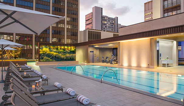 AquaVie is an extensive spa at the Westgate