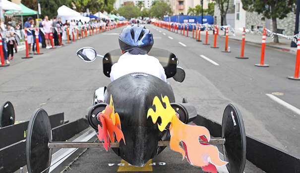 A soapbox derby like no other