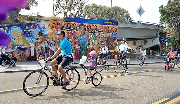 CicloSDias V rolls through open streets of Downtown