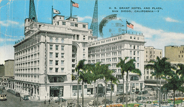 The history of the U.S. Grant Hotel